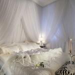 Белая спальня с фото и описанием интерьера