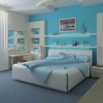 Голубая спальня фото и советы специалистов