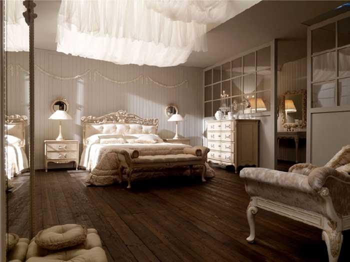 Мебель в классической спальне