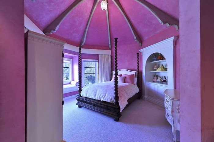 Спальня розовый цвет фото