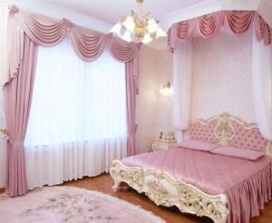 Розовая спальня 12 кв м