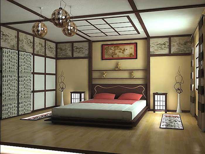 Китайская мебель в спальне