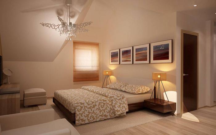 Спальня 20 кв м