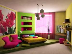 Спальня для девочки подростка