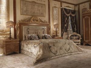 Спальня в стиле барокко – красота и роскошь!