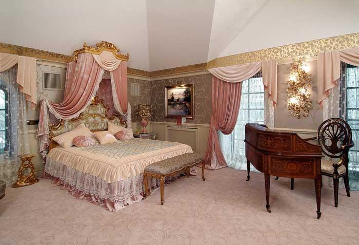 Портьеры в спальню
