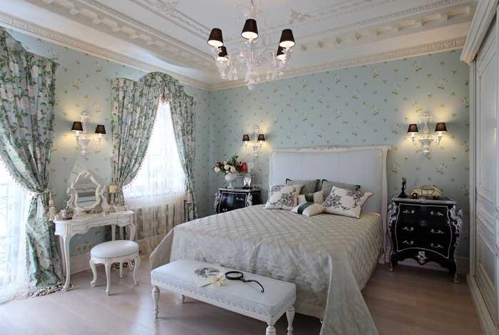 Портьеры для спальни фото