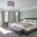 Спальня в серых тонах – нестандартный дизайн!