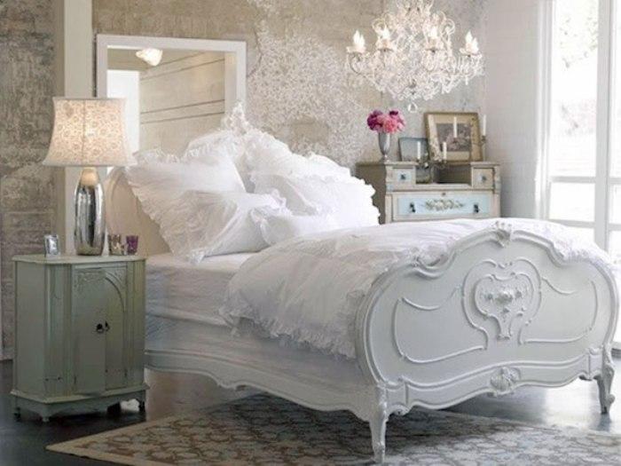Спальня шебби шик