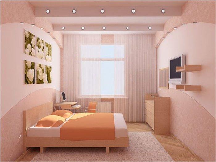 Спальня 6 кв.м