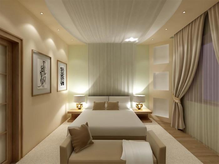 дизайн спальни 16 кв м