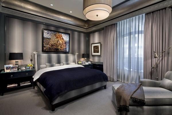 Спальня для мужчины – оформление