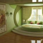 Дизайн стен в спальне с фото