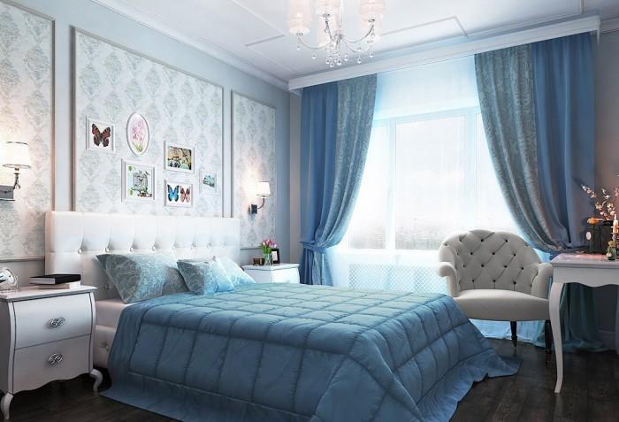 спальня 16 кв м