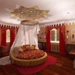 Спальня в восточном стиле – загадочность и обаяние!