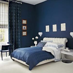 Синяя спальня – интересное решение  для вашего дома!