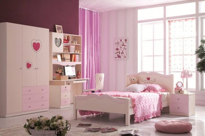 Спальня для молодой девушки