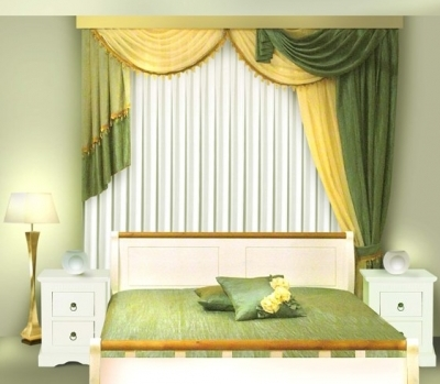 ламбрекен в спальню