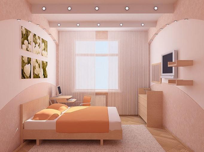 дизайн спальни 13 кв метров