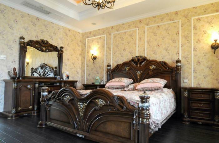 обои для спальной комнаты