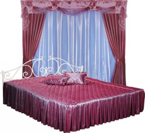 Ламбрекены для спальни