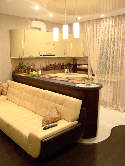 спальня и кухня