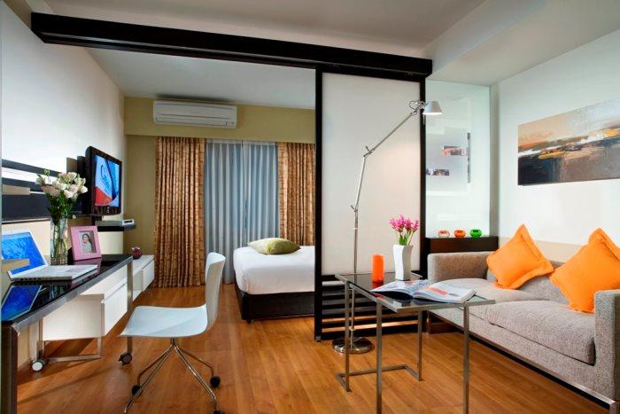 Спальня в гостиной своими руками