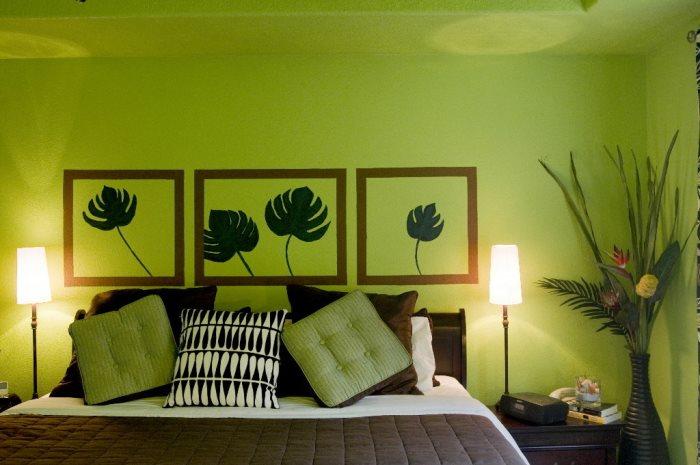 великолепная-зеленая-спальня
