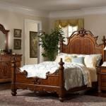 Спальни из дерева — дизайн и фото