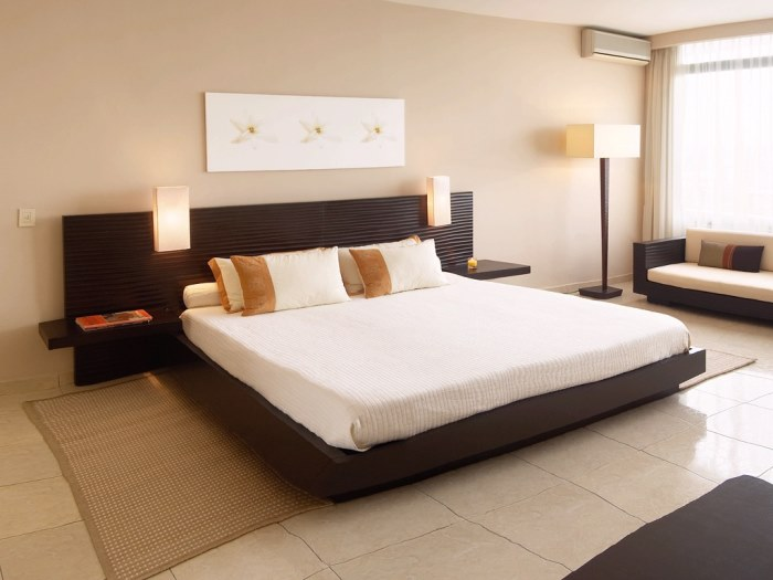 Дизайн интерьера спальни 4 на 4