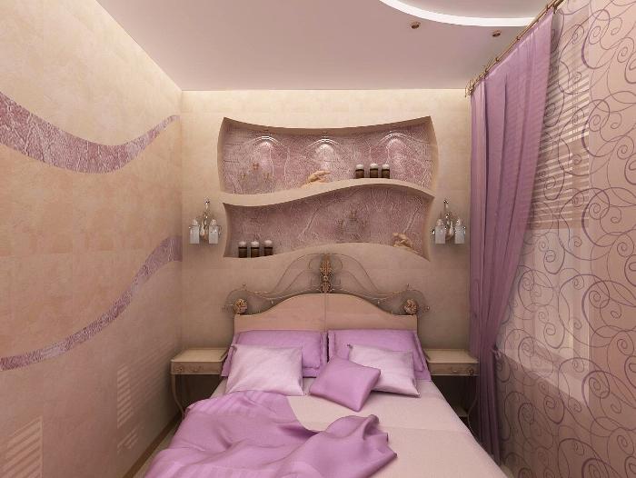 Ремонт в маленькой спальне своими руками фото