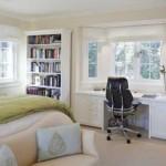 Кабинет и спальня в одной комнате — это возможно!