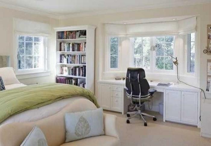 Кабинет-спальня в одной комнате - секреты дизайна интерьера