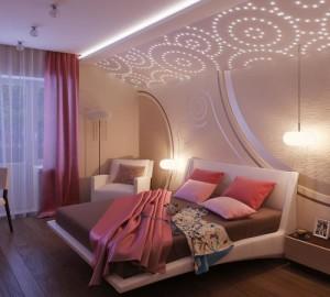 Спальня два на два метра — оформление