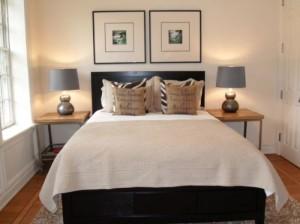 Дизайн спальни небольшого размера