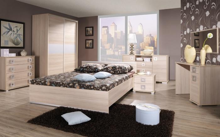 Спальня дизайн с фотообоями фото