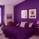 Фиолетовая спальня — как оформить?