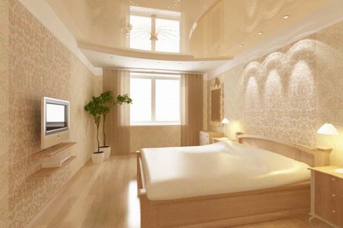Дизайн интерьера спальни 3х4