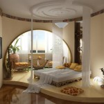 Потолок в спальне — виды, стили, описание