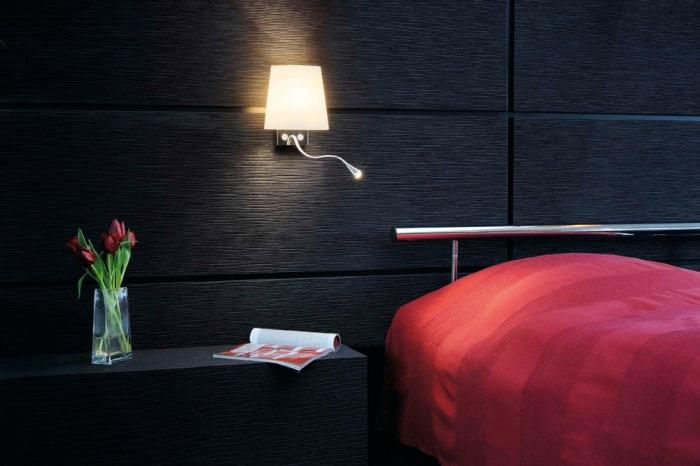 Светильники настенные в спальню