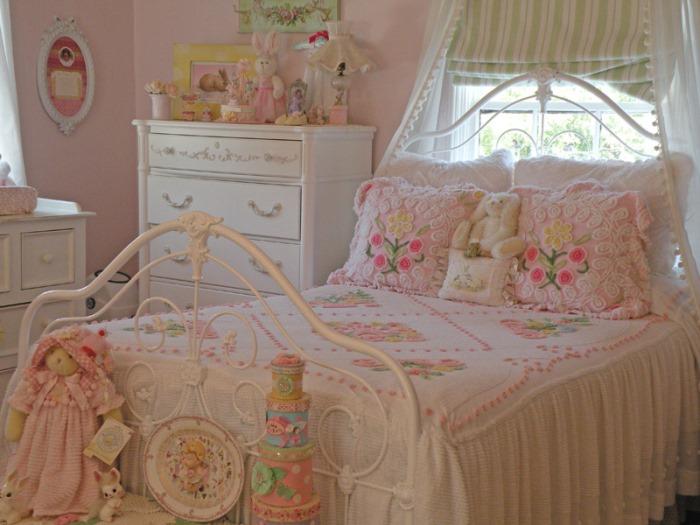 Спальня в романтическом стиле-800wi