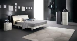 Темная спальня — интересный вариант оформления