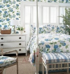 Выбираем цвет обоев для спальни