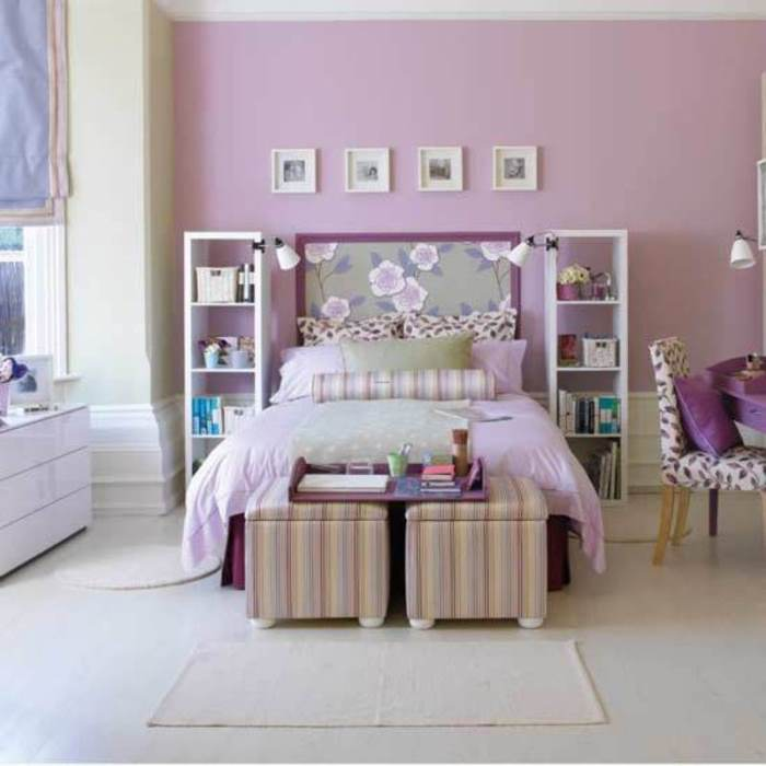 purple bedroom ideas, Purple Bedroom Image, bedroom