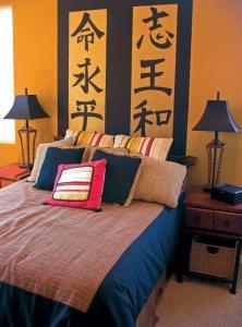 Спальня в китайском стиле — дизайны интерьеров