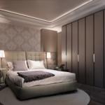 Интерьер спальни для молодой пары