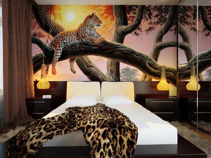 Спальня для молодой пары