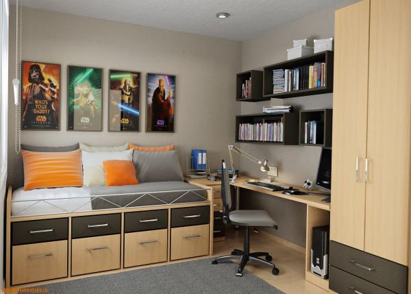 Спальня для мальчика подростка