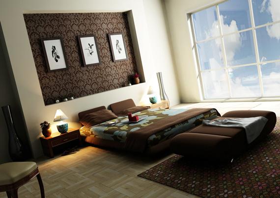 Мебель в шоколадных тонах