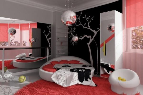 Подростковая спальня для девушки